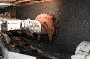 coal mining drill