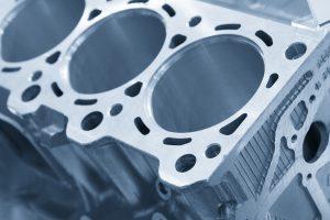 engine block, carbide drilling